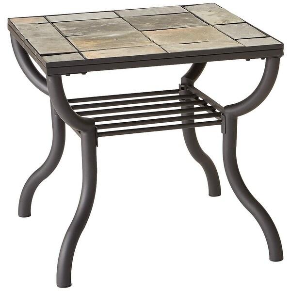 Antigo Sofa Table: Shop Ashley T233-2 Antigo Black Square End Table
