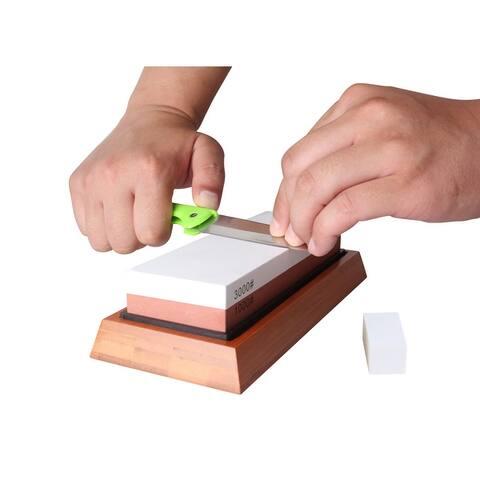 Prime Cook Knife Sharpening Stone 2 Side Grit 1000/3000