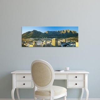 Easy Art Prints Panoramic Images's 'High angle view of a city, Cape Town, South Africa' Premium Canvas Art