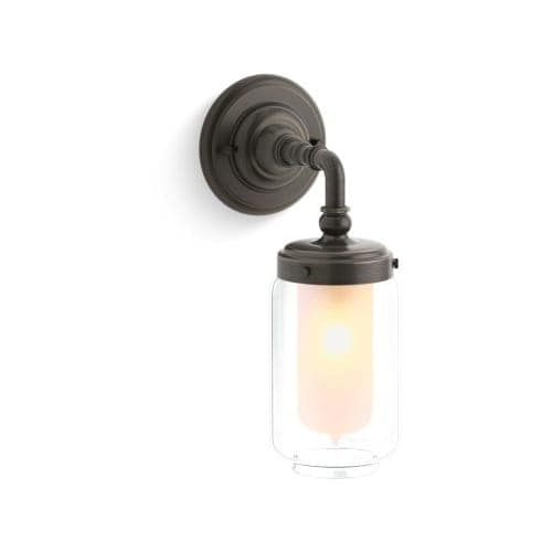 Kohler k 72584 artifacts collection single light wall sconce kohler k 72584 artifacts collection single light wall sconce free shipping today overstock 24800422 mozeypictures Choice Image