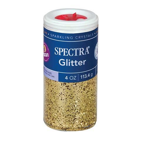 Spectra (6 ea) glitter 4oz gold 91680bn