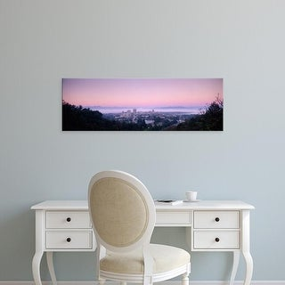 Easy Art Prints Panoramic Images's 'View of a city at morning, Asheville, Buncombe County, North Carolina' Canvas Art