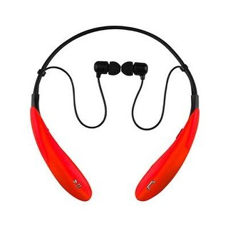 Supersonic - Iq-127Btrd - Bt Wireless Hdphones W Mic Red