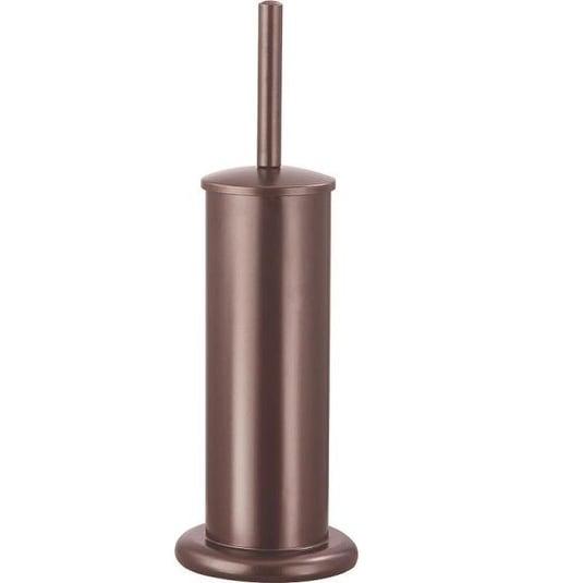Homebasix MYY004 Toilet Bowl Brush with Stand, Venetian Bronze