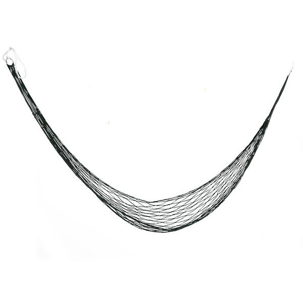Outdoor Hiking Nylon Nest Swing Sleeping Bed Portable Hanging Hammock Army Green