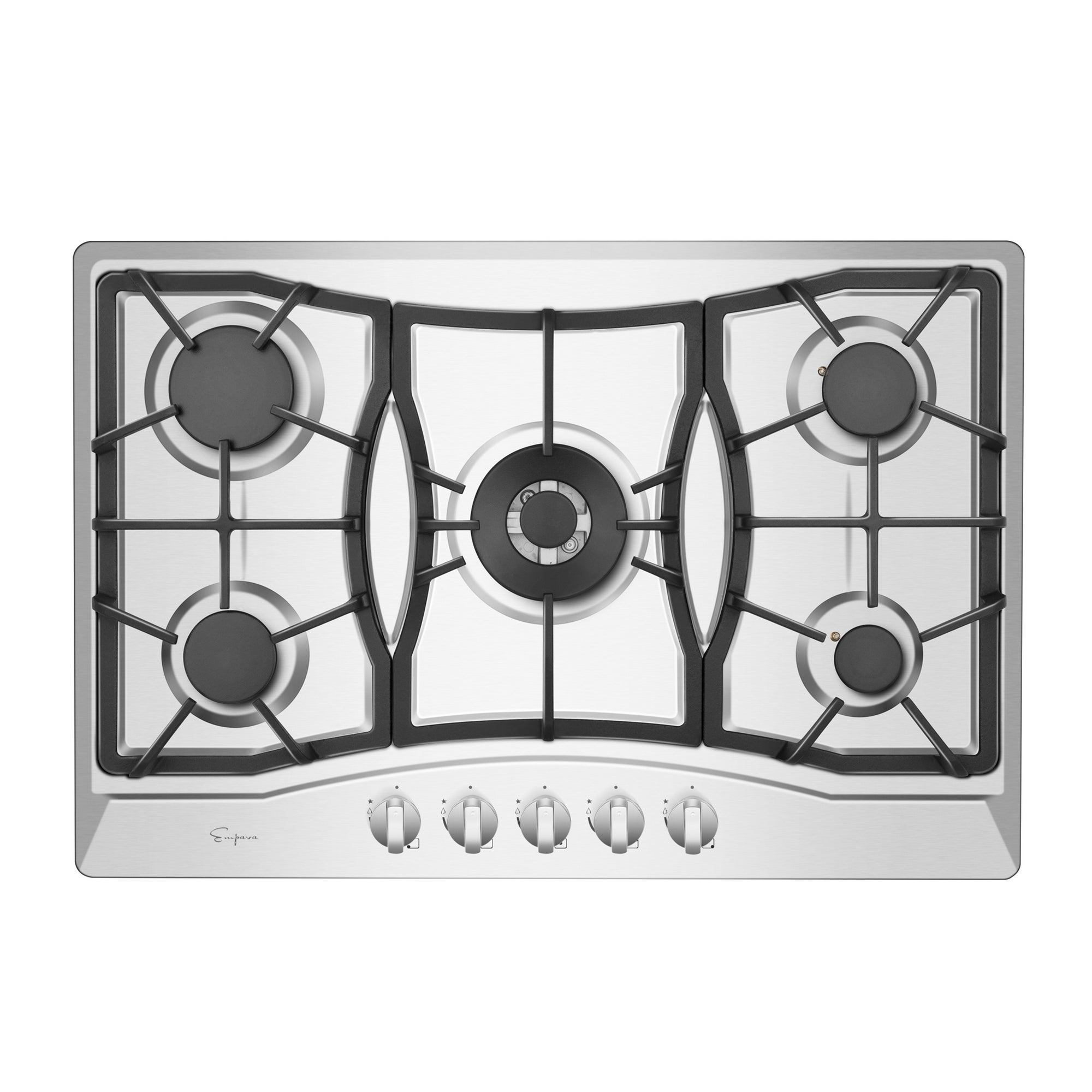 Shop Empava 30 Built In Gas Stove Top Stainless Steel 5 Italy Sabaf Burners Lpg Natural Gas Cooktop Overstock 22469060