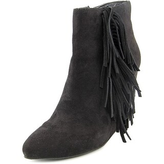 Madden Girl Pave Round Toe Synthetic Ankle Boot