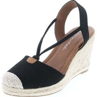 Link to City Classified Gigi Women's Cap Toe Espadrille Wedge Sandal Similar Items in Women's Shoes