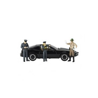 Safety Check 3pc Figure Police Set for 1/18 Scale Models by Motorhead Miniatures
