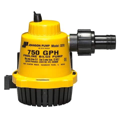Johnson pump proline 750 gph bilge pump 22702