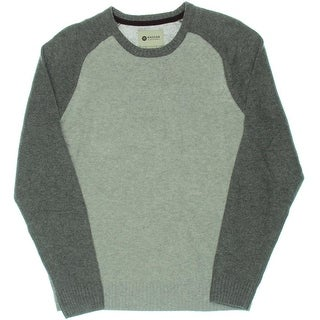 Haggar Mens Wool Long Sleeves Sweater - M