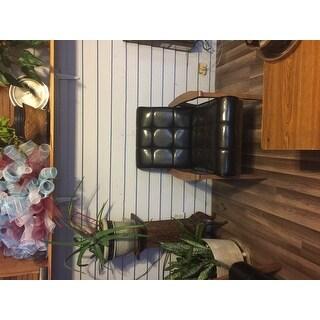 Baxton Studio Mid Century Masterpieces Brown Club Chair