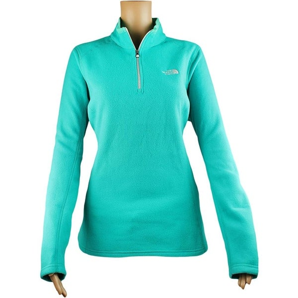 The North Face Women Glacier 1/4 Zip Fleece Kokomo Green