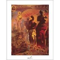 ''Hallucinogenic Toreador'' by Salvador Dali Huntington Graphics Art Print (14 x 11 in.)