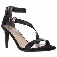 B35 Hillary Ankle Strap Dress Sandals, Black