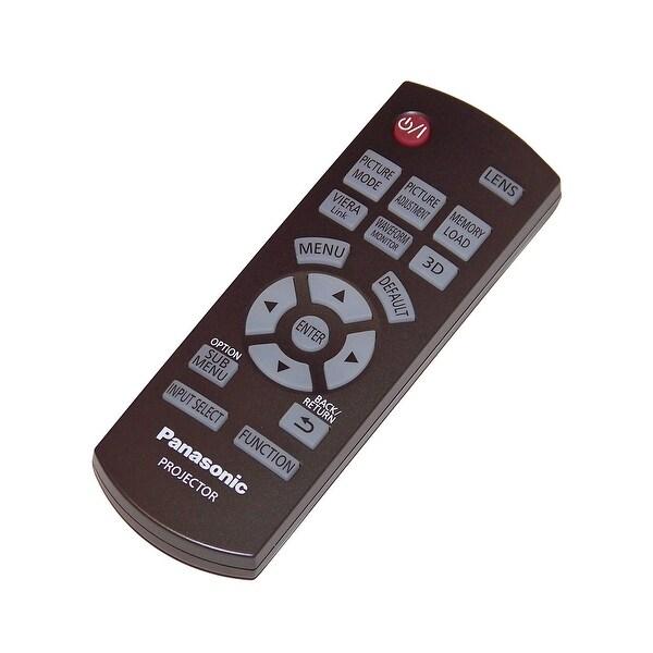 OEM Panasonic Remote Control Originally Shipped With: PTAE7000, PT-AE7000, PTAE7000U, PT-AE7000U