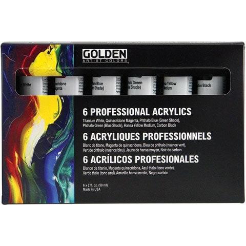 Golden - Principal Professional Heavy-Body Acrylic Set