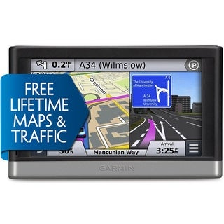 Garmin Nuvi 2597LMT GPS Vehicle Navigation System w/ Free Lifetime Map & Traffic Updates