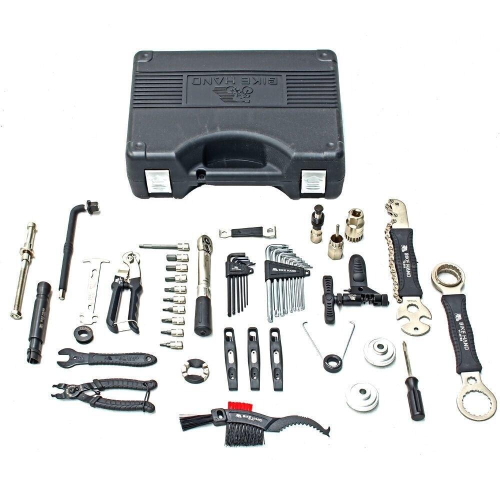 "Power Steer Bike Bicycle Repair Tool 1//4/"" Bit Wrench Kit"