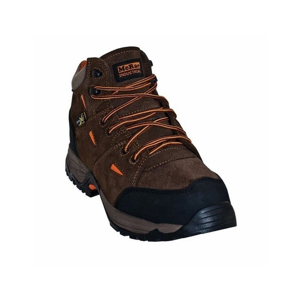McRae Industrial Work Boots Mens Hiker Composite Toe Brown