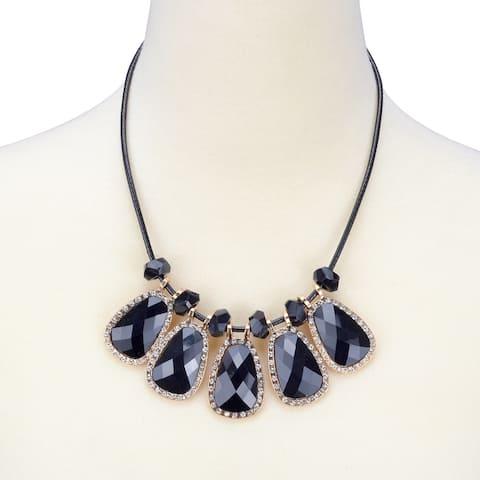 Stylish Crystal Style Necklace Unique Design