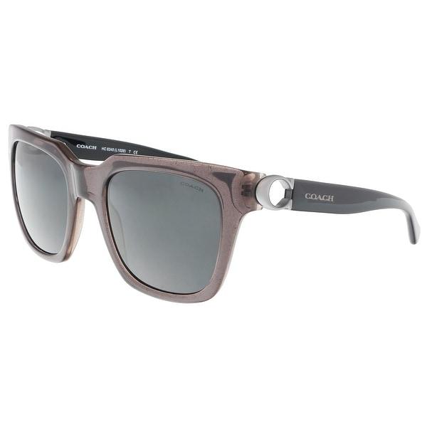 94d13189b098 Shop Coach HC8240 544787 Dirty Lilac Square Sunglasses - 52-21-140 ...