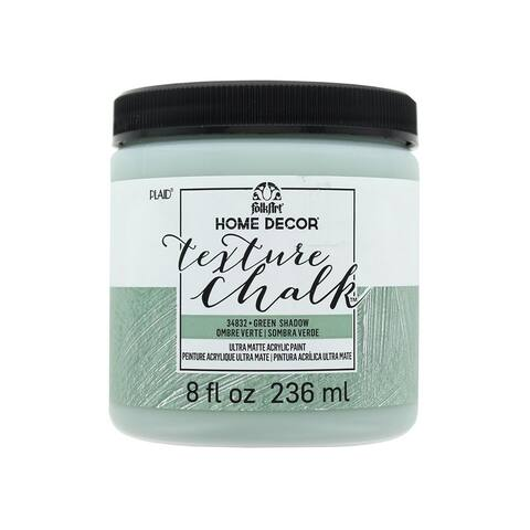 34832 plaid folkart texture chalk 8oz green shadow