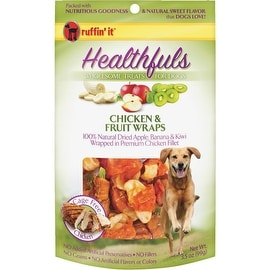 Ruffin' it 3.5Oz Chkn/Frut Dog Wrap
