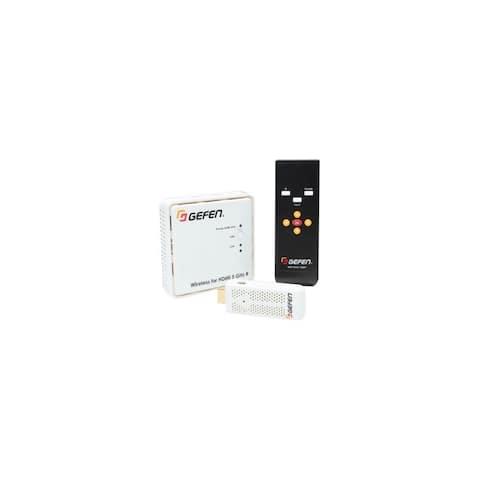 Gefen EXT-WHD-1080P-SR-TX Gefen Wireless for HDMI 5 GHz SR Sender Unit - 1 Input Device - 33 ft Range - 1 x USB - 1 x HDMI In -