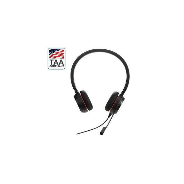Shop Jabra Evolve 20se Ms Duo Taa Evolve 20se Stereo Overstock 29341990