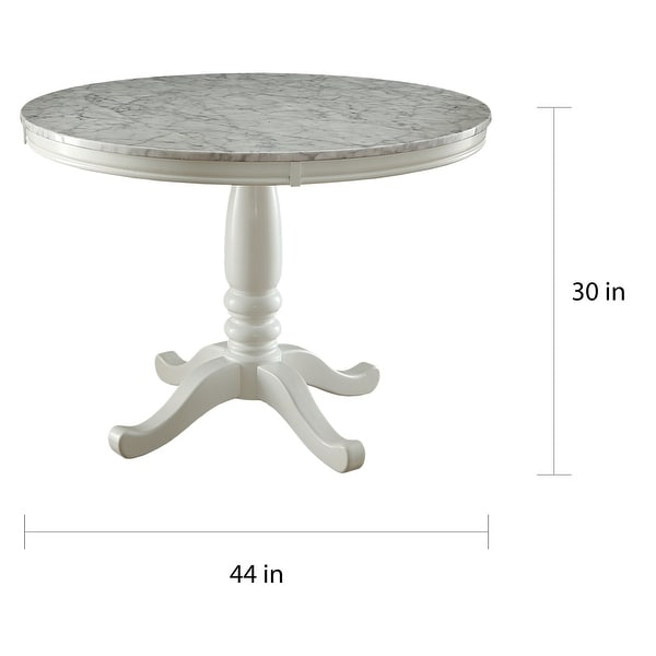 Furniture of America Ten Country 42-inch Round Dining Table