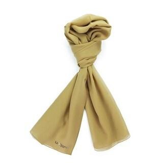 Ungaro UN7018 U0898 Classic Gold Silk Scarf