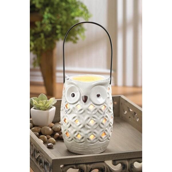 White Owl Lantern
