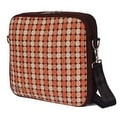 O Yikes! Retro Messenger Bag, Apricot - 4.0 in. x 12.0 in. x 12.0 in. - Thumbnail 0