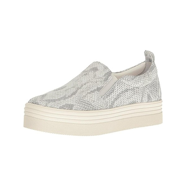 b6f661a2fb62 Shop Marc Fisher Womens Elise Fashion Sneakers Leather Snake Print ...