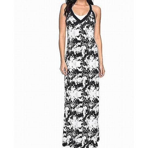 7088424160b Soybu Womens Large Shattered Shelf-Bra Maxi Dress