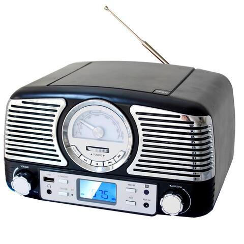 Nastolgic Portable CD Player with Bluetooth