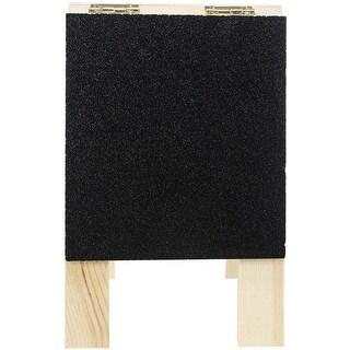 """Mini Wood Chalkboard Easel-5""""X3.25""""X1"""""""
