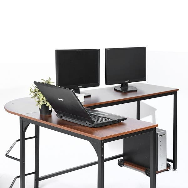 Shop Large L-shaped Desk 66\