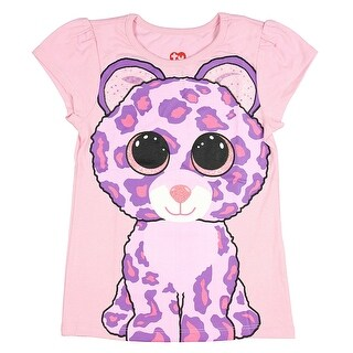 TY Beanie Boo Girls' Glamour The Leopard T-Shirt