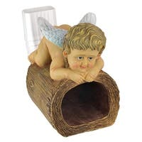 Design Toscano  Blessings from Heaven Angel Gutter Guardian Downspout Statue