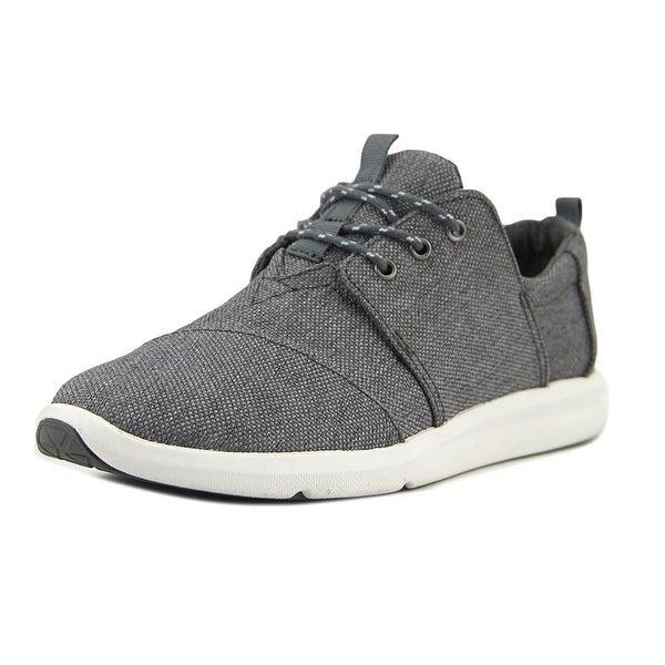 Toms Del Rey Women Round Toe Canvas Gray Sneakers