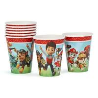 Paw Patrol 9oz Paper Cups 8ct - Multi