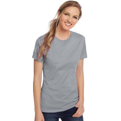 Hanes Women's Nano-T® T-shirt - Color - Light Steel - Size - 3XL