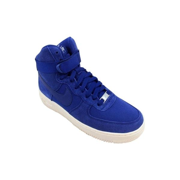 Nike Air Force High Deep Royal Blue GS 653998 400 Size:6 7