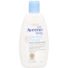 AVEENO Baby Cleansing Therapy Moisturizing Wash 8 oz