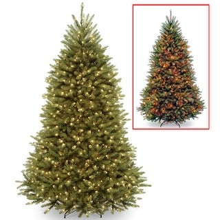 6.5 ft. PowerConnect(TM) Dunhill® Fir Tree with Dual Color® LED Lights