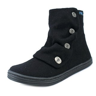 Blowfish Rabbit Women  Round Toe Synthetic Black Boot
