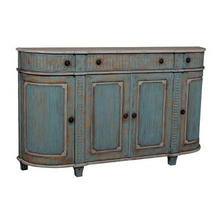 GuildMaster 603502 Demilune 72 Inch Wide Mahogany Chest
