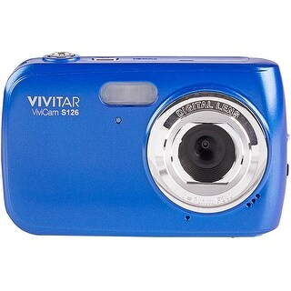 Vivitar VS126 16.1 Mega Pixel Digital Camera - Blue